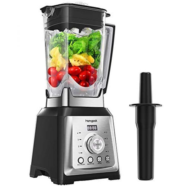 homgeek Standmixer Smoothie Maker mit 2.000 Watt