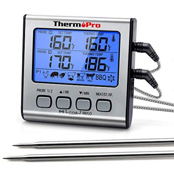 ThermoPro TP17 Digitales Grill-Thermometer