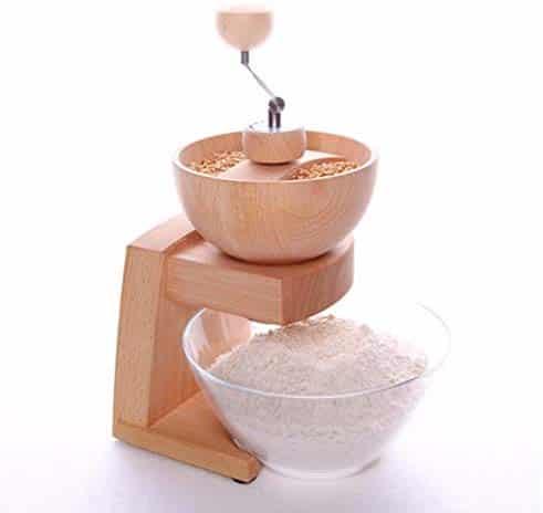 Getreide Korn Handmühle Kaffeemühle Kornmühle Getreidemühle Nussmühle DE